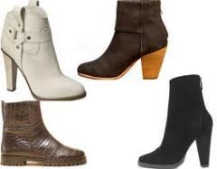 Обувь из искусственной кожи женская