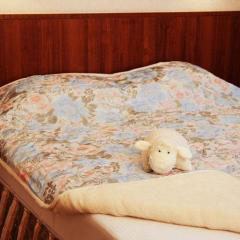 Одеяла с наплнителем из верблюжьей шерсти.