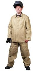 Fire-resistant clothes for welders