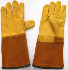 Перчатки для сварщиков