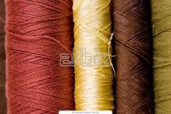 Yarn x / cord koltsepryadilny knitted and