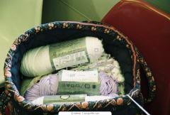 Текстиль и кожа. Волокна, пряжа, нити текстильные.