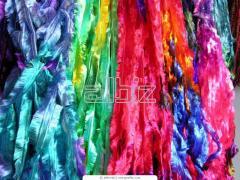 Текстиль и кожа. Ткани из натуральных и