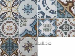 Tile ceramic majolica