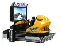 AQUA RACER3D, video simulator