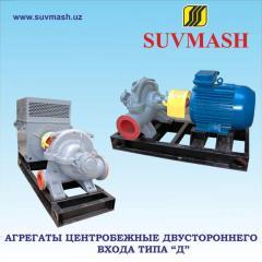 Units centrifugal bilateral entrance D