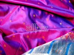 Fabrics lining silk
