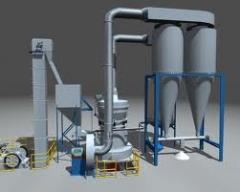 Equipment for production of cemen