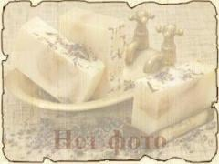Natural almond soap
