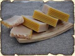 Natural soap Milk and honey