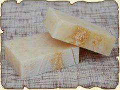 Natural citrus soap