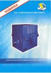 Asynchronous A4-400U-4UZ electric motor