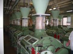 The equipment is mill, flour-grinding