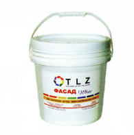 Paint water dispersive for external works of