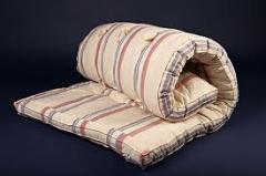 Fabric tic mattress