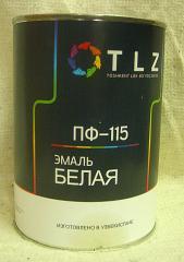 Алкидная эмаль ПФ - 115 белая для наружных работ