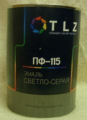 Алкидная эмаль ПФ - 115 светло-серая для наружных работ