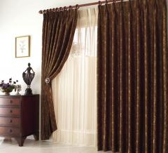 Curtains are design
