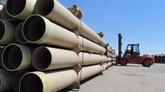 "Pipe fiber glass ""ASIA PIPEPLAST"