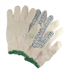 Gloves knitted five-fingered x /