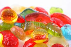 Candies jelly and chewing