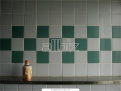 The tile is (ceramic) tiled