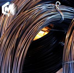 The wire is knitting. Ferrous metals, hire