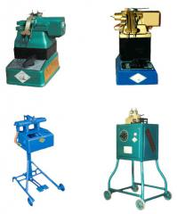 The machine is styko-welding. Equipment for