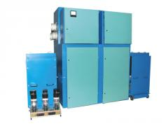 High-voltage chambers and cells of KSO,YaKNO with