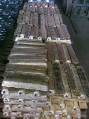 Brass foundry Chushka Spit LC59-1 Brass alloy