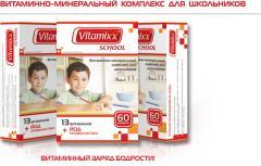 Preparation Vitamixx School
