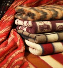 Blanket woolen in assortmen