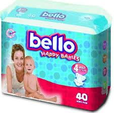 Children's BELLO Diapers