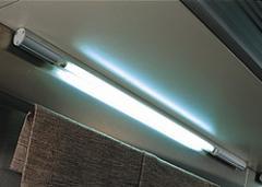 The linear LED lamp for emergency lighting