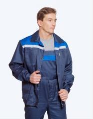 Костюм мужской из полукомбинезона и куртки