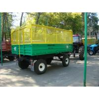Trailer tractor dumping 2PTS-4-793A-03A