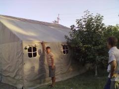 Tents, awnings, tarpaulin