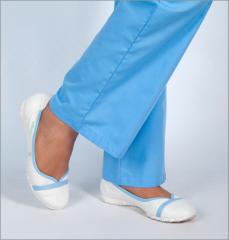 Footwear for hospital attendants, nurses