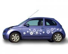 Надписи для автомобилей