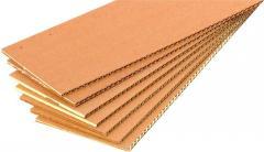 Corrugated cardboard sheet, Samarkand