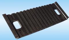 Прокладки резиновые нашпальные для ж/б шпал