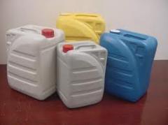 Емкости прочие из пластиков, резины