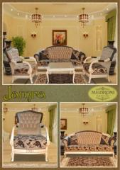 Upholstered furniture of Jamra