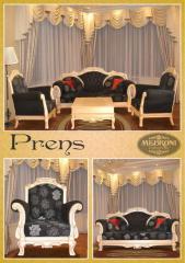 Upholstered furniture of Prens