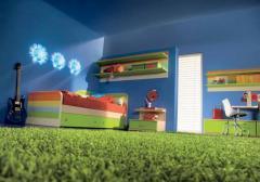 Ковролин для детских комнат