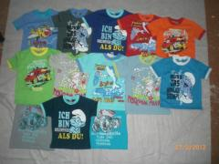 T-shirts children's 100% x /
