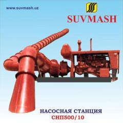 Station pump mobile diesel SNP500/10