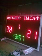 Board electronic for spor
