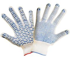 Gloves knitted five-fingered x/, gloves working