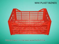 Ящик для фруктов пластмассовый